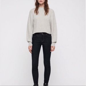"⤵️All Saints ""Grace"" Mid Rise Skinny Jeans"